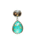 Antique Blue Moon Pendant - Sterling Silver - LeCalla