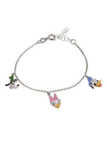 Disney Characters Bracelet - Sterling Silver - LeCalla