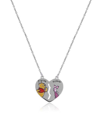 Friends Forever Disney Necklace - Sterling Silver - LeCalla