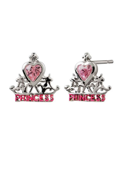 Princess Disney Stud - Sterling Silver - LeCalla