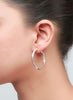 EveryDay Hoop Earring - Sterling Silver - LeCalla