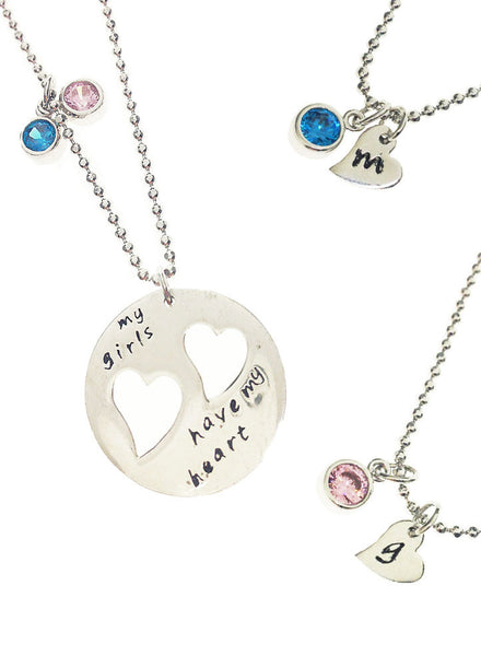 My Special Ones Have My Heart - Sterling Silver - LeCalla