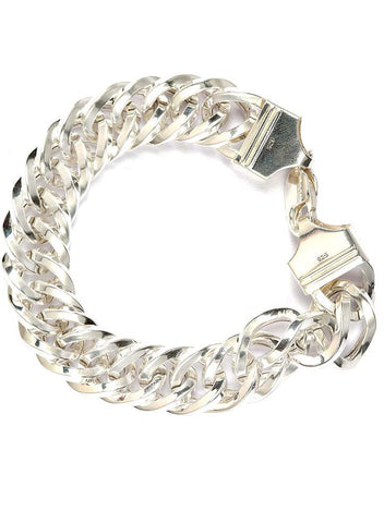 Hollow Links Bracelet - Sterling Silver - LeCalla