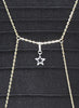 Star Motif Body Chain - Brass - LeCalla