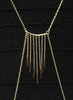 Tassel Spread Body Chain - Brass - LeCalla