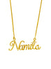 925 Sterling Silver Personalized Wired Necklace - LeCalla