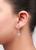 Corporate Love Dangler Earrings - Sterling Silver - LeCalla