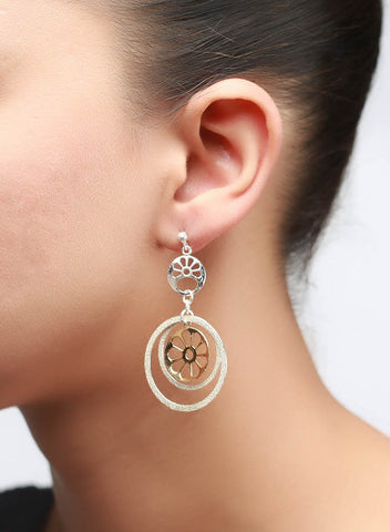 Wheel-O-Wheel Earring - 925 Sterling Silver - LeCalla