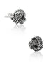 Inspired Love Stud Earring - Sterling Silver - LeCalla