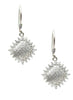 Sensational Micropave Dangler Earrings - Sterling Silver - LeCalla