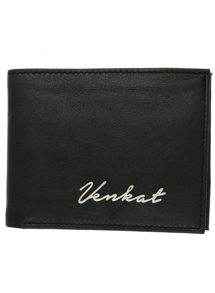 Customized Men's Wallet - Valentine Gifting