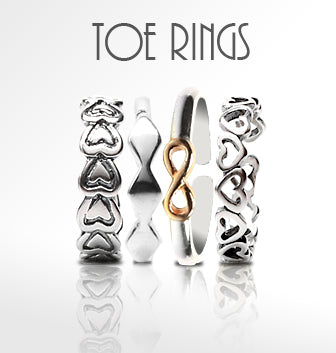 Silver<br/>Toe rings<br/>Shop<br/>Online India