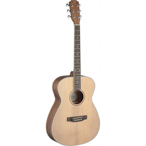James Neligan Asyla series 4/4 auditorium acoustic guitar with solid spruce top