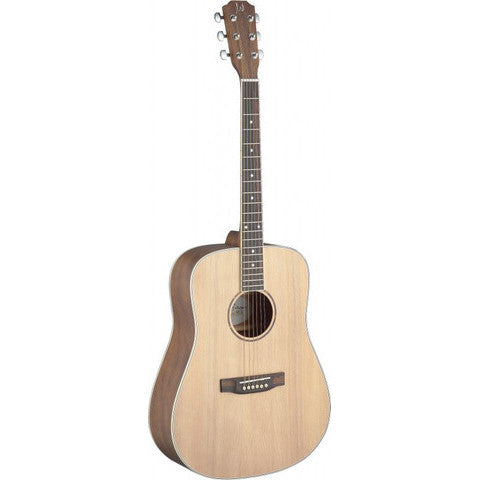 James Neligan Asyla series 4/4 dreadnought acoustic guitar with solid spruce top