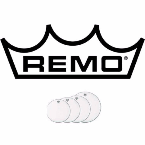 "Remo ProPack Emperor Heads, 12"", 13"", 16"" and 14"" Snare"