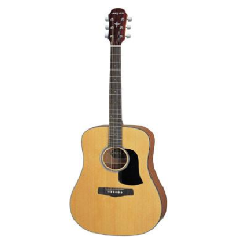 Aria AW-130 Left Handed Acoustic Guitar (image r/h)