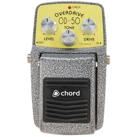 Chord OD-50 Overdrive Guitar Effects Pedal