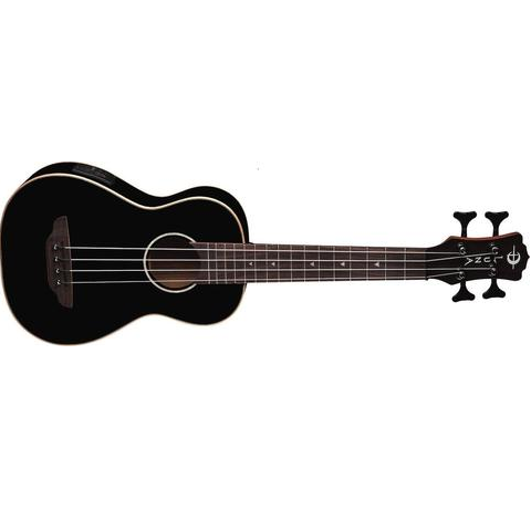Luna Ukulele Bass (Gloss Black)