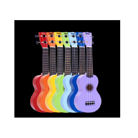 MAHALO Ukelele Coloured