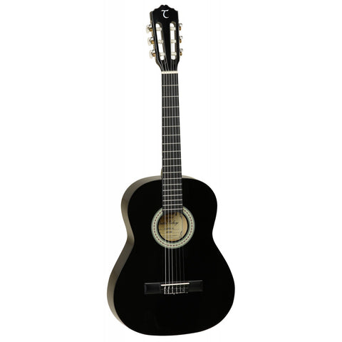 Tanglewood Discovery 3/4 Size Pack Classical/Nylon String Guitar DBT34 BK Black Gloss