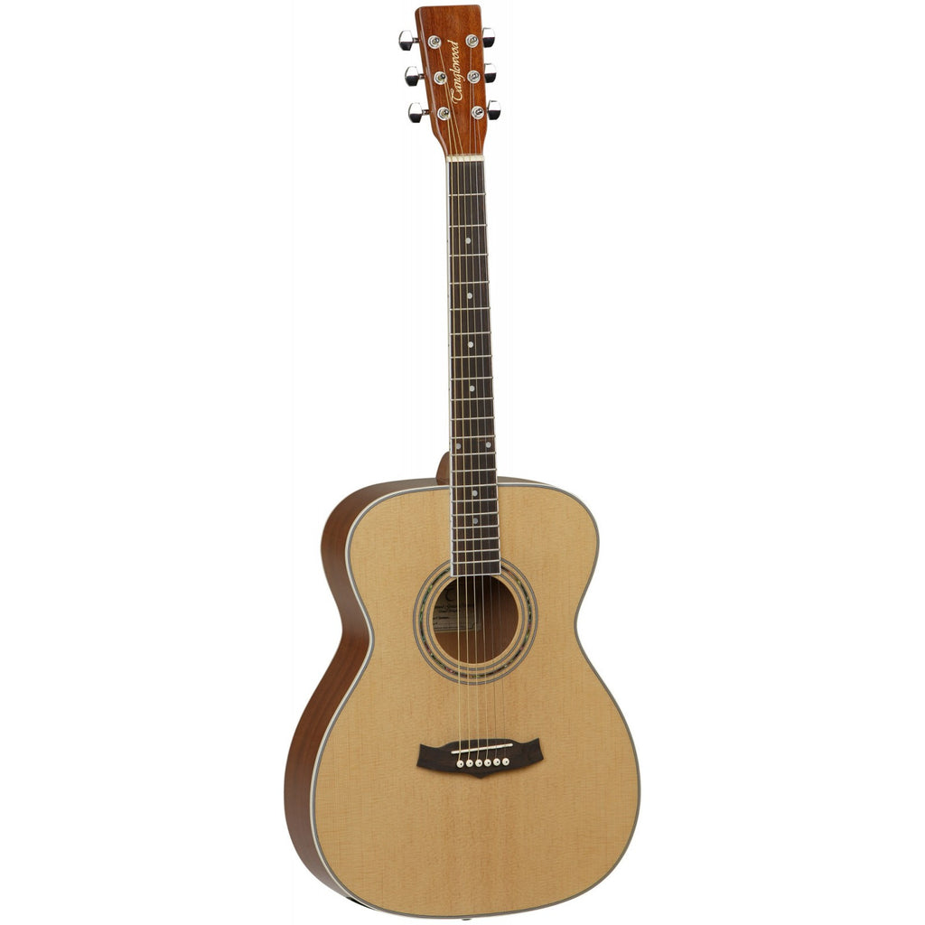 Tanglewood Discovery DLX Pack Acoustic Guitar DBTDLXF Natural Gloss