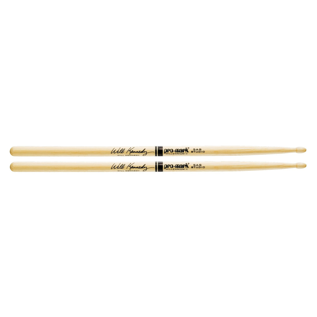 Promark Hickory Drumsticks Autograph Collection  TX5ASW Hickory 5AS Will Kennedy Wood Tip drumstick