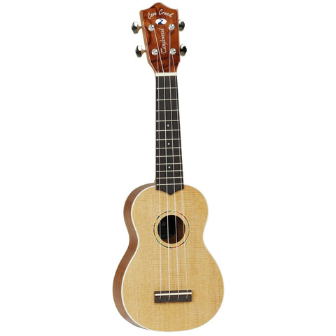 Tanglewood Cove Creek Soprano Ukulele TU2 SOP Natural Gloss, with hardcase