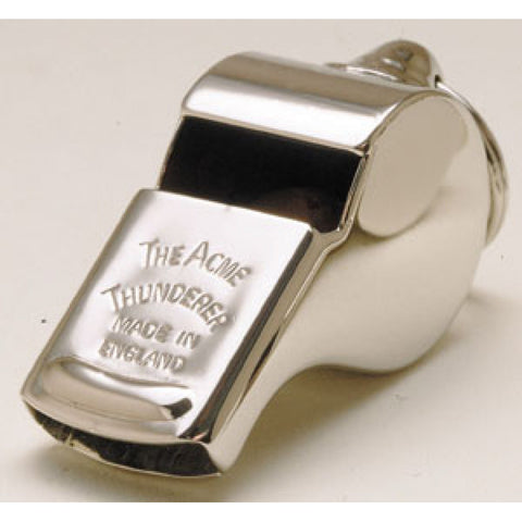 Acme Titanic Brass Thunderer Whistle.  58