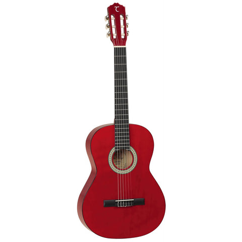Tanglewood Discovery Pack Classical/Nylon String Guitar DBT44 TWR Transparent Red Gloss