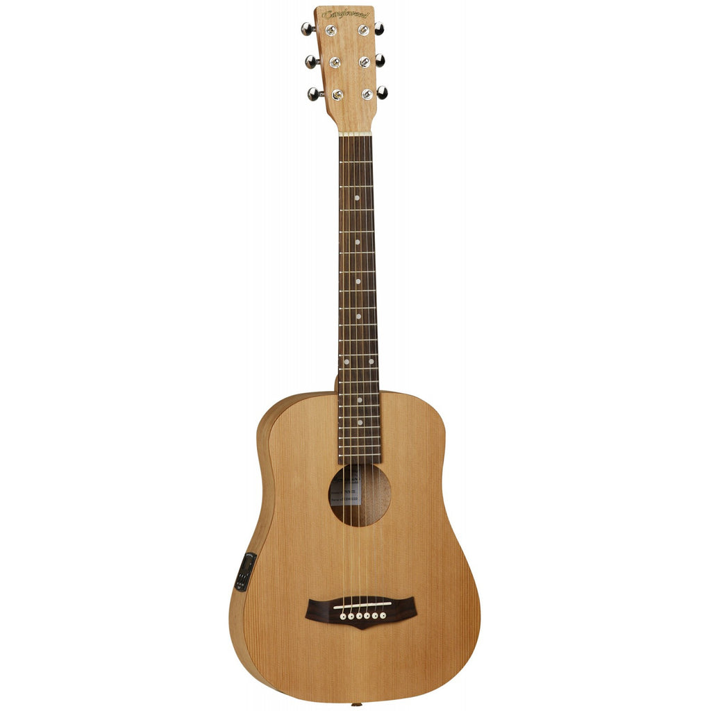 Tanglewood Roadster Folk Traveller Electro-Acoustic Guitar TWR TE Natural Matt with gig bag