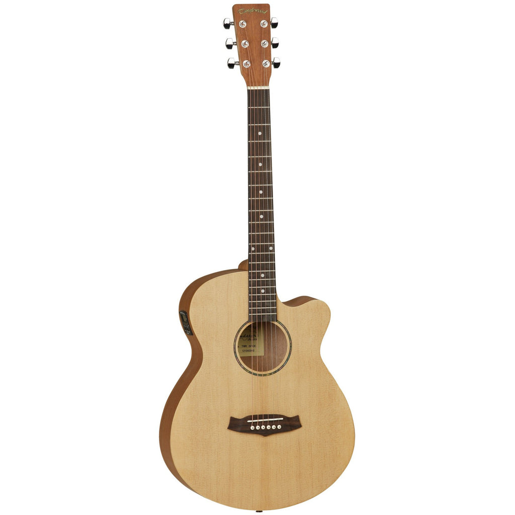 Tanglewood Roadster Super Folk Electro-Acoustic Guitar TWR SF CE Natural Matt