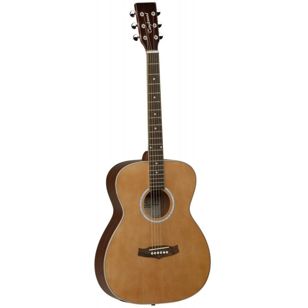 Tanglewood Evolution II Orchestra Acoustic Guitar TFA  	Natural Satin