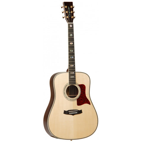 Tanglewood Heritage Super Dreadnought Electro-Acoustic Guitar TW1000 H SR E Natural Gloss