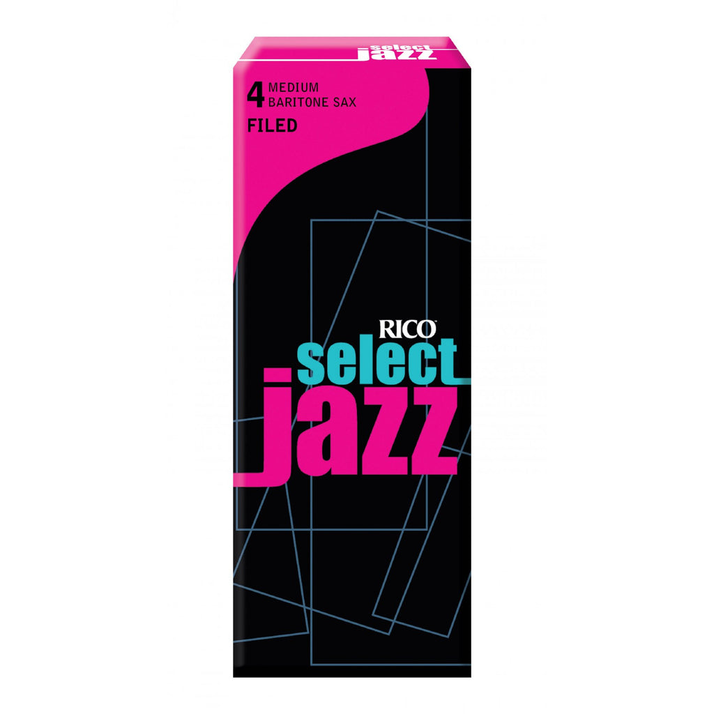 Select Select Jazz  RSF05BSX4M Baritone Sax Reeds, Filed, Strength 4 Strengt