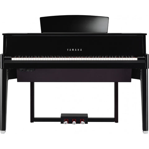 Yamaha Avant Grand Hybrid Digital Piano N1 Black Polished
