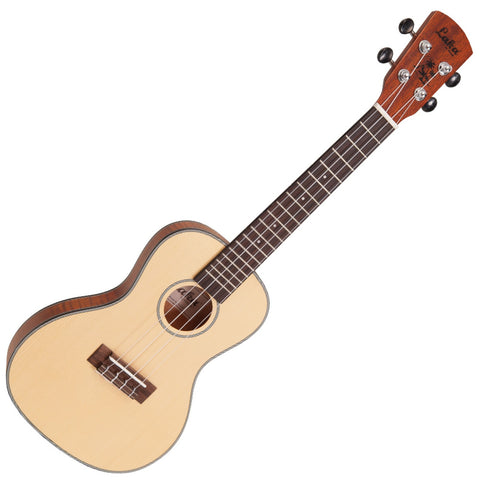 Laka Slim Body Concert Ukulele VUC85 Spalted Maple Open Pore