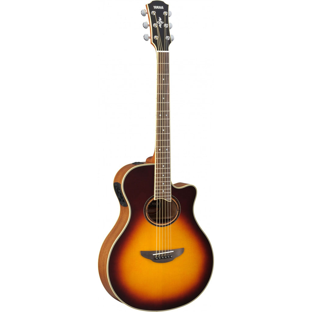 Yamaha  Electro-Acoustic Guitar APX700IIBS Brown Sunburst