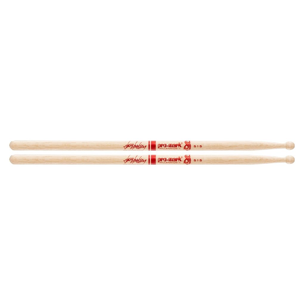 Promark Shira Kashi Oak Drumsticks Autograph Collection  PW515W Shira Kashi Oak 515 Joey Jordison Wood Tip dr