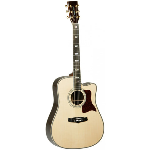 Tanglewood Heritage Super Dreadnought Electro-Acoustic Guitar TW1000 H SRC E Natural Gloss