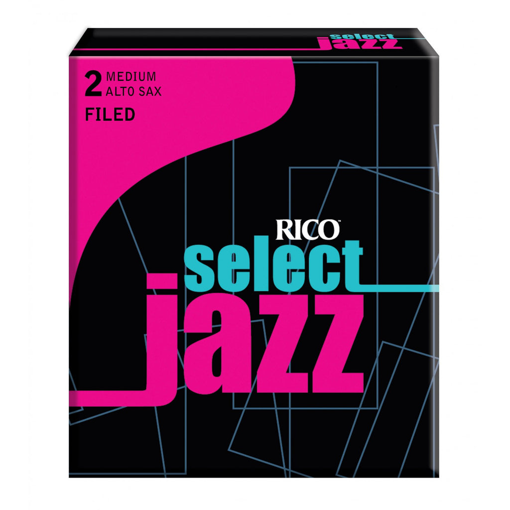 Select Select Jazz  RSF10ASX2M Alto Sax Reeds, Filed, Strength 2 Strength Me