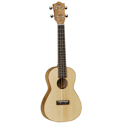 Tanglewood Java Concert Ukulele TUJ4 Natural Open Pore Satin