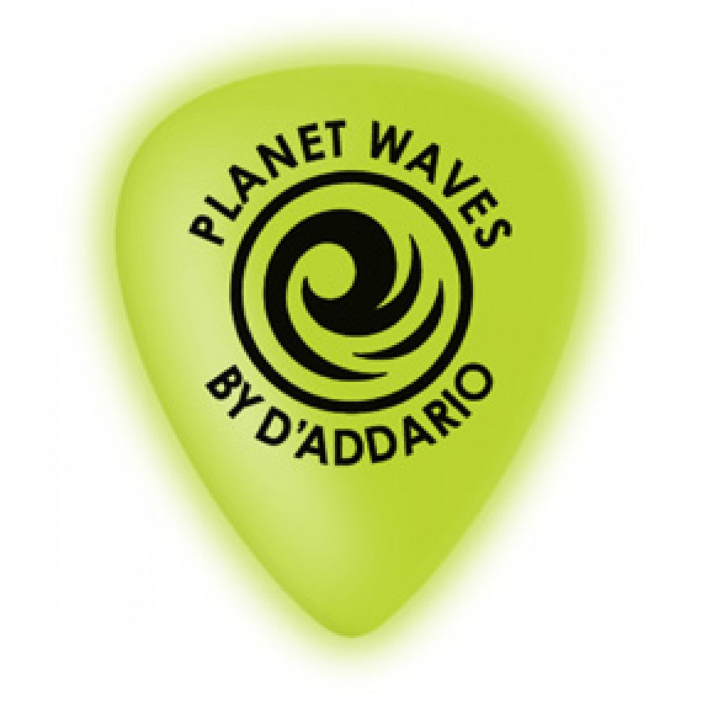 Planet Waves Cellu-Glo Guitar Picks  1CCG7-10 10 pack, Extra-Heavy