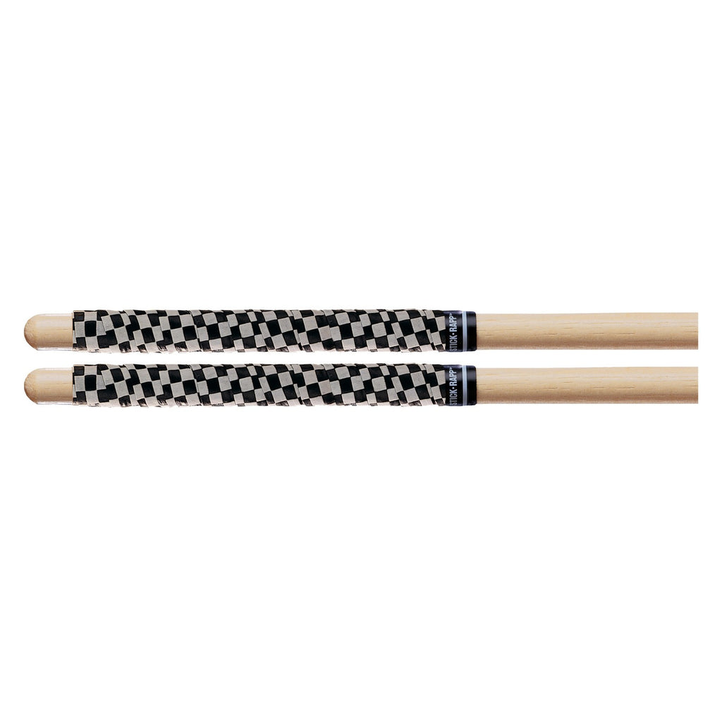 Promark   SRCW SRBLA White/Black Check Stick Rapp