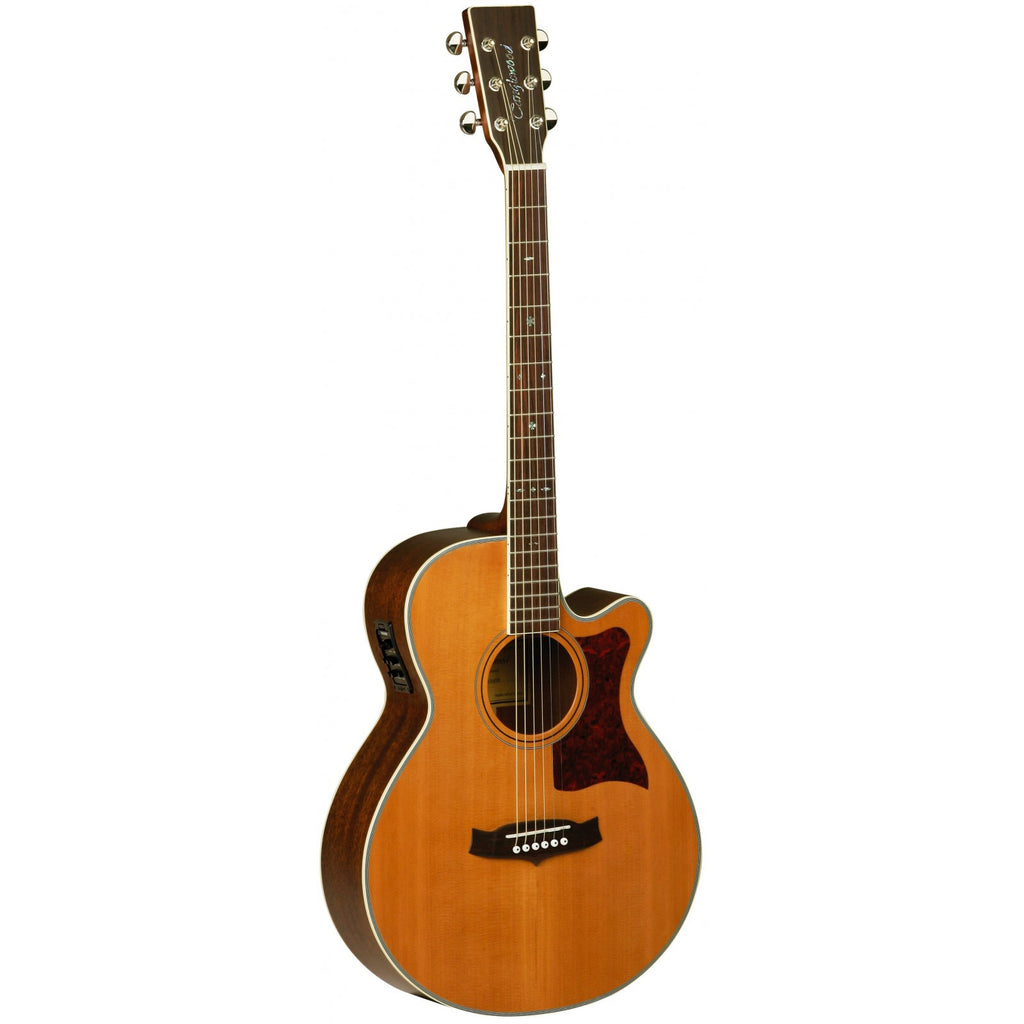 Tanglewood Sundance Super Folk Electro-Acoustic Guitar TW45 NS E Natural Satin