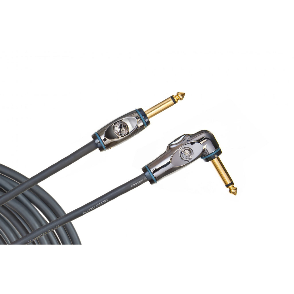 Planet Waves Circuit Breaker Instrument Cable  PW-AGRA-10 Right-Angle, 10 feet