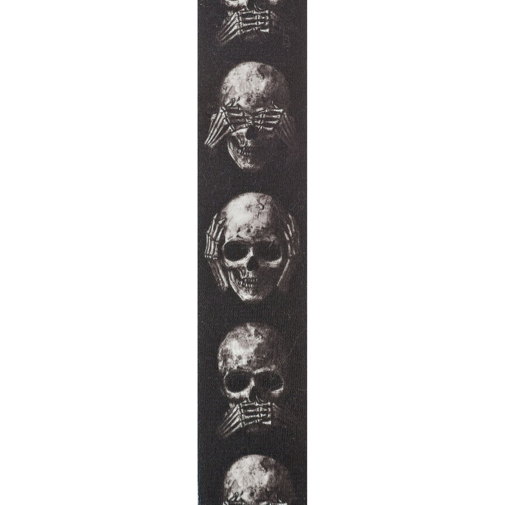 Planet Waves Alchemy Gothic Guitar Strap  50AL01 Muted Skulls