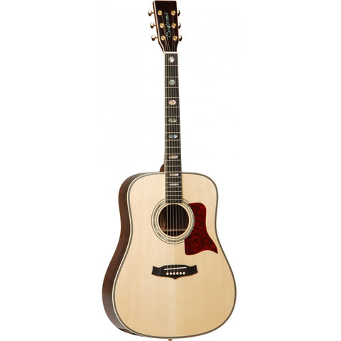 Tanglewood Heritage Super Dreadnought Acoustic Guitar TW1000 H SR Natural Gloss