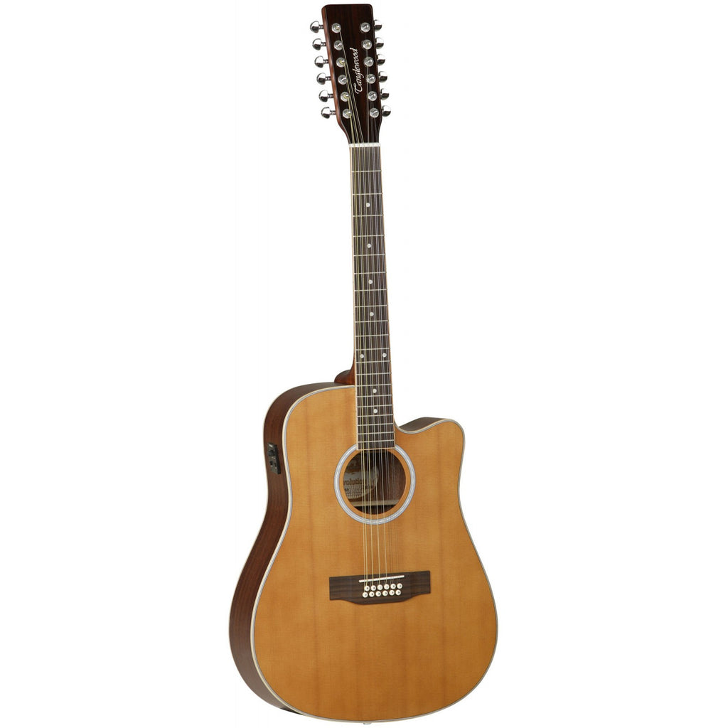 Tanglewood Evolution II 12 String Electro-Acoustic Guitar TW28/12 CLN CE Natural Satin