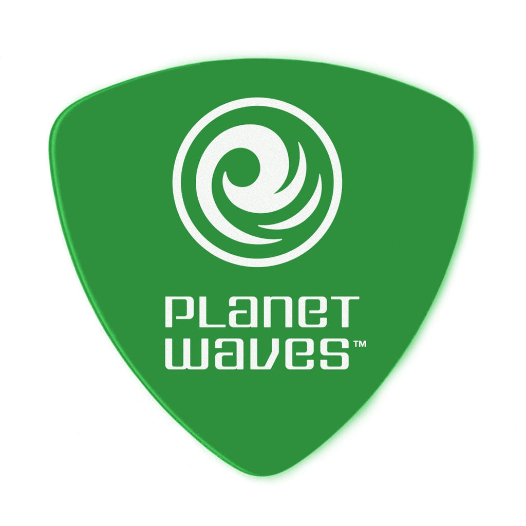 Planet Waves Duralin Guitar Picks  2DGN4-10 Medium, 10 pack, Wide Shape