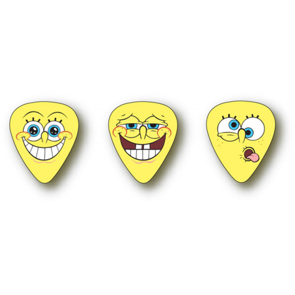 Dunlop PLAYERS PACK Plectrum SBP-SBH Heavy, 6 picks/3 designs